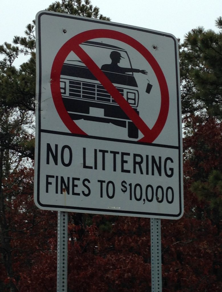 Imposing Stricter Anti-Littering Laws