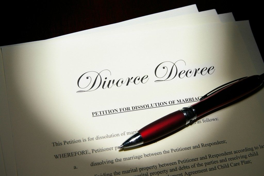 Divorce and Property Settlement
