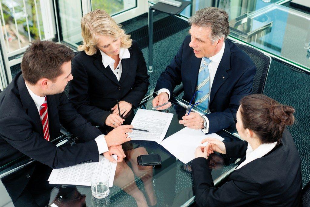 lawyer team