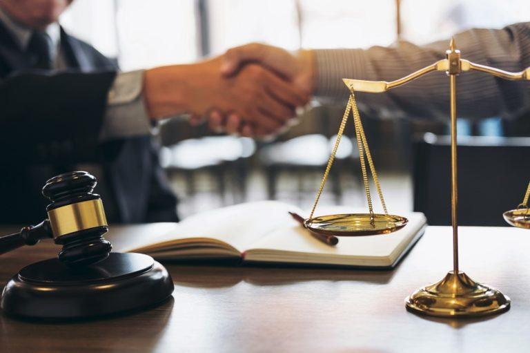 lawyer handshake